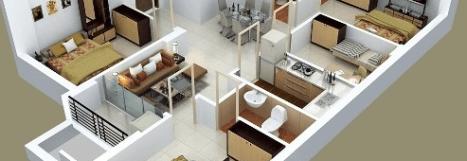 99+ denah rumah minimalis 3 kamar tidur type 36 di 2020