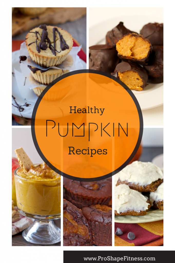 Healthy pumpkin recipes.