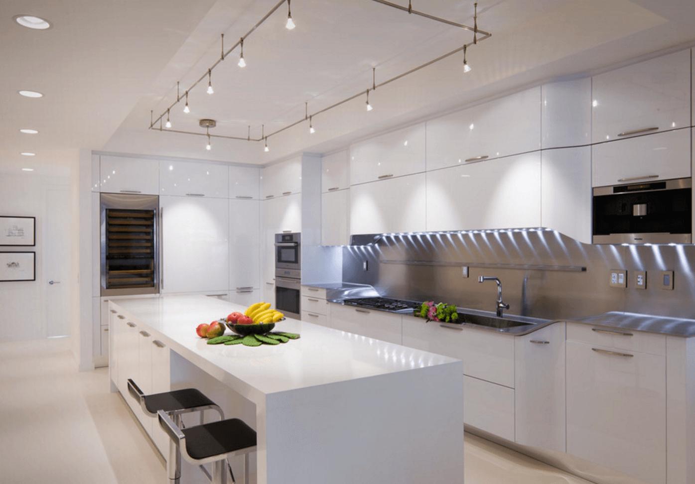 9 Easy Kitchen Lighting Upgrades   Freshome.com   Contemporary ...