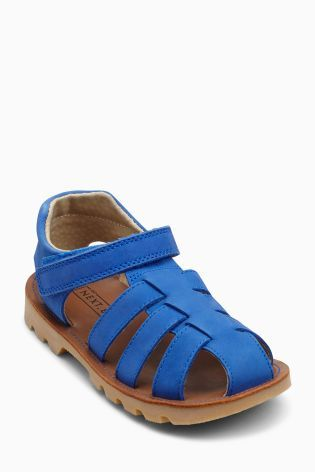 Cobalt Sandales en cuir (Petit garçon)