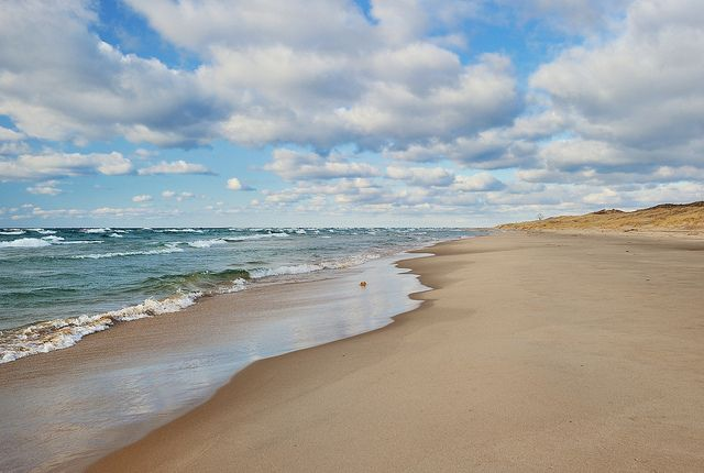 Sable Point Beach Ludington State Park Michigan