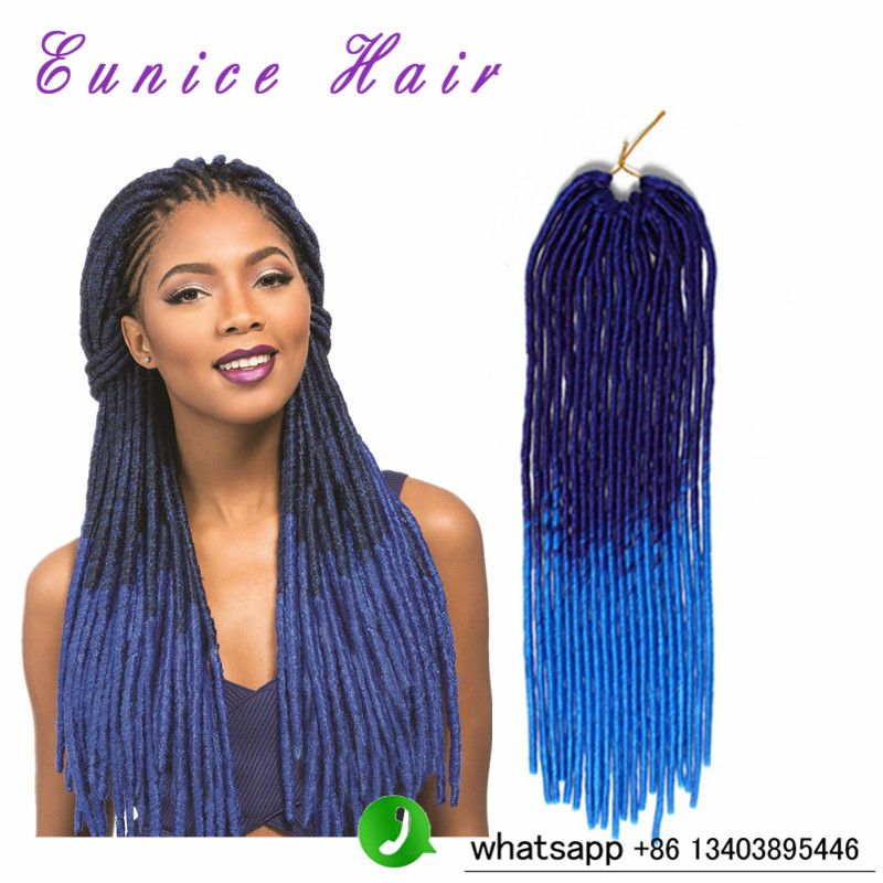 Two tone color 20 synthetic hair dread faux locs braids hair two tone color 20 synthetic hair dread faux locs braids hair extensions pmusecretfo Images