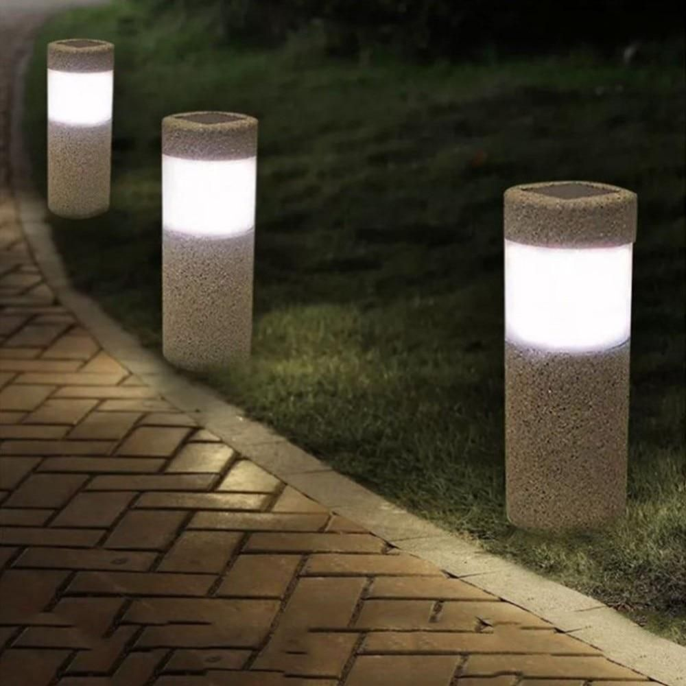 Light Your Garden Pathway With These Sand Blasting Solar Led Light More Information Theme Landscape Mater Solar Lights Garden Led Garden Lights Lawn Lights