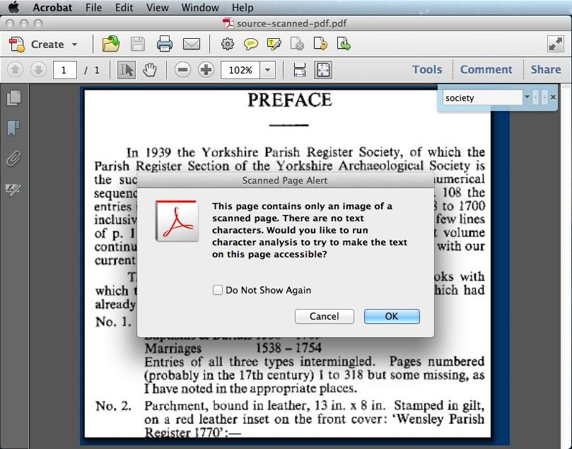 How to Make PDF Searchable with/ without Adobe? Read on
