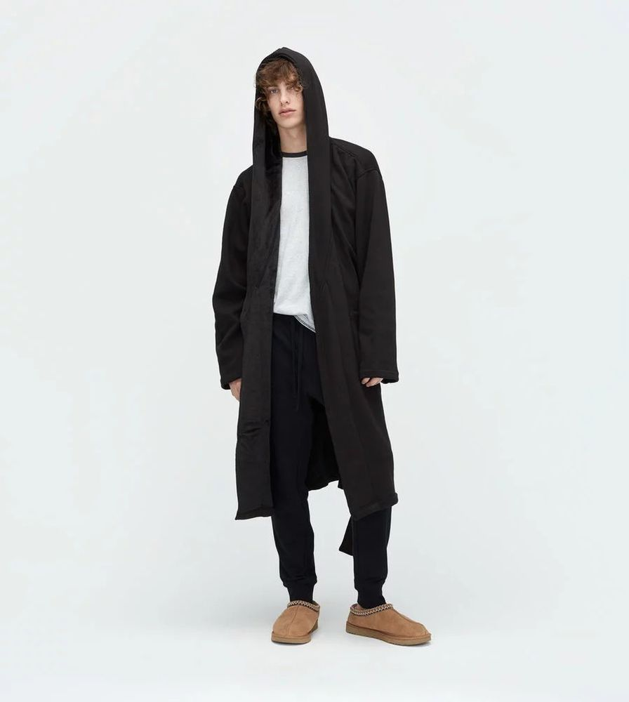 f323b3cb417 UGG Australia Brown Brunswick Hooded Robe Relaxed Fit Mens Size L/XL ...