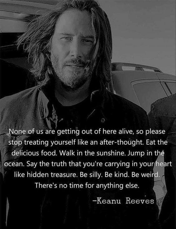 Keanu Reeves Zitate