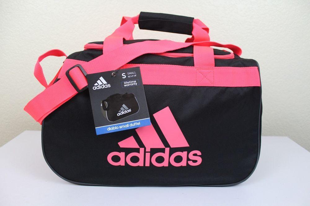 88f224c445 adidas diablo small duffel sport gym bag women 18.5