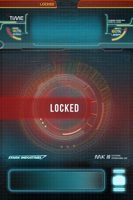 Cool Stark Industries Lock Screen For Iphone 4 4s Cool Lock Screen Wallpaper Cool Lock Screens Locked Wallpaper