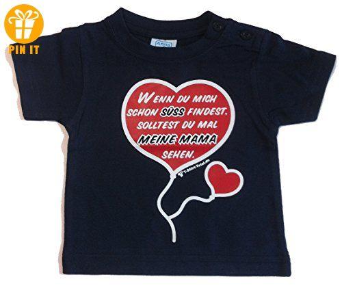Lustiges Kinder T Shirt mit Spruch Wenn Du mich schön süß ...