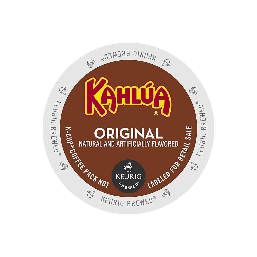 Timothy's World Coffee Kahlua Coffee KCups, 1.5 Oz., Box