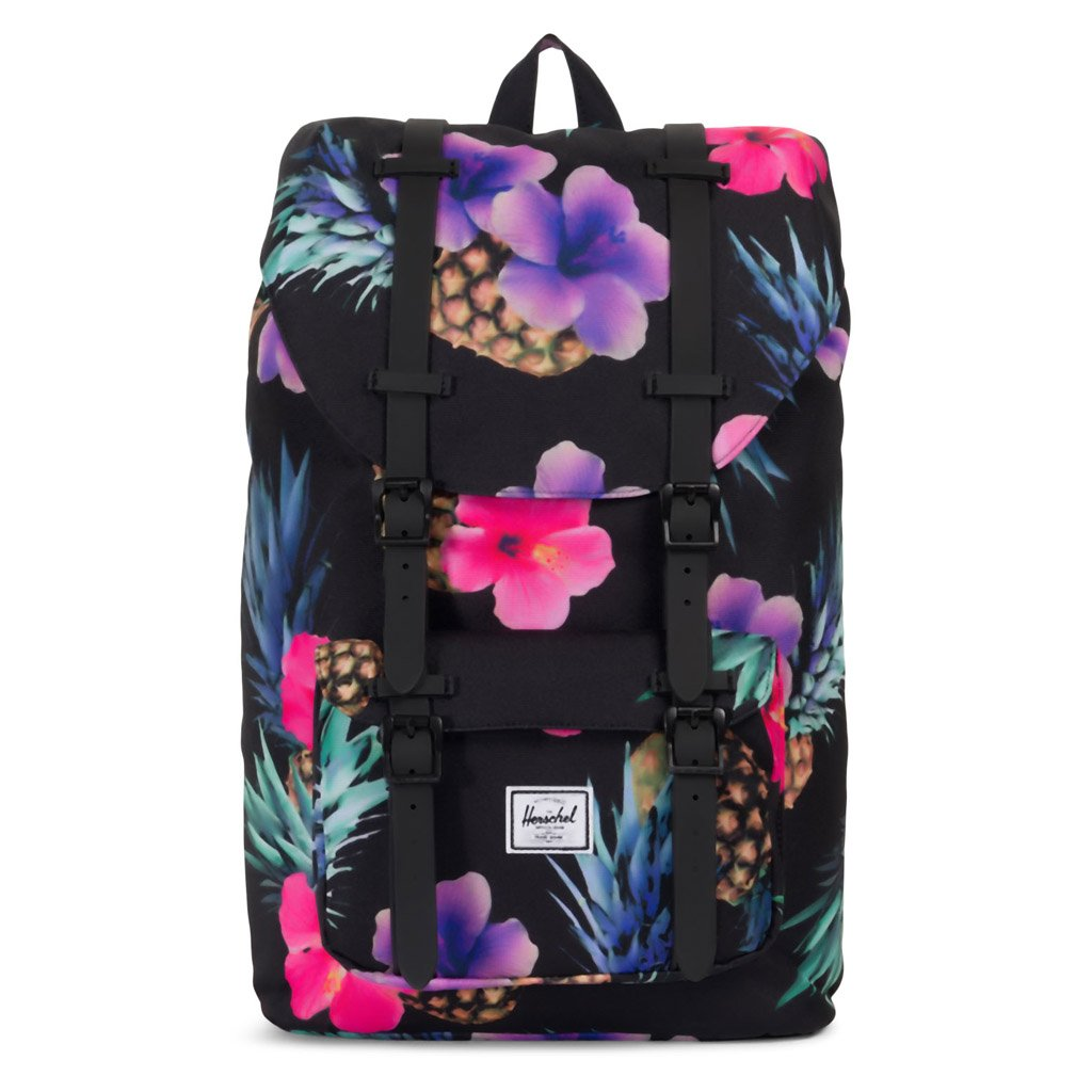 Herschel Supply Co. Little America Backpack Mid-Volume - Black Pineapple 39a69f3336fc3