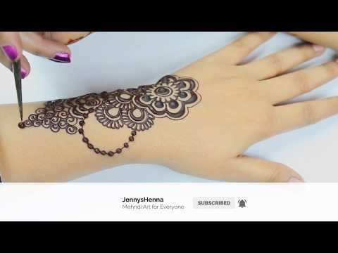 Mehndi Henna Designs S : How to apply 3d stunning mehndi henna design easy and quick