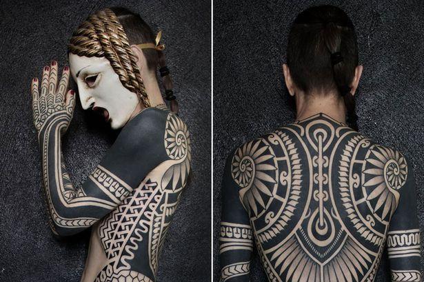 blackout tattoo women 101