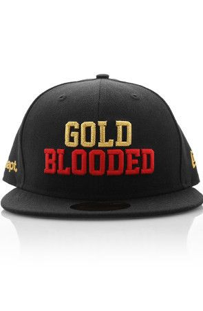 Ode to SF 49ers  Adapt Advancers — New Era X Adapt    Gold Blooded (59 50  Fitted Cap) 8c740d7aa51