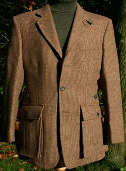 Bateson Tweed Shooting Jacket | Ghillie jacket | Pinterest | Tweed ...