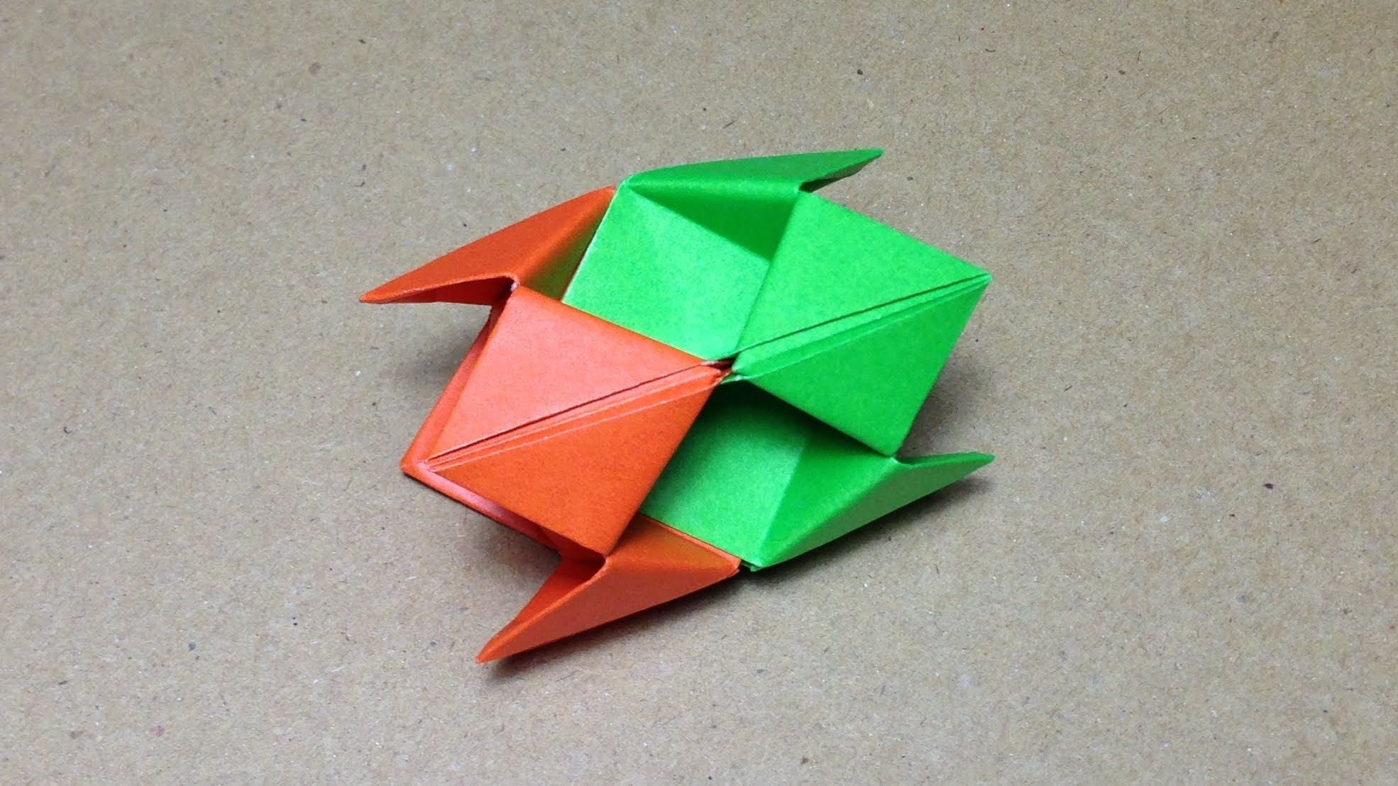 How to make origami from modules 88