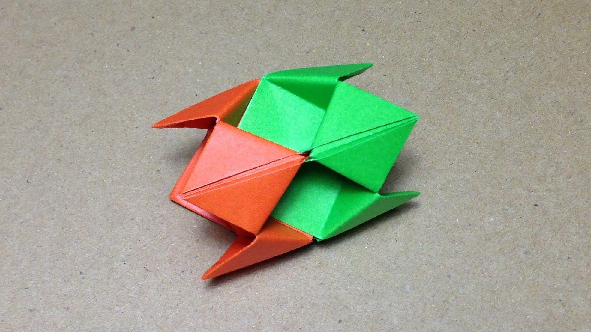 Modular Origami / How to make an Origami Ball | origami ... - photo#47