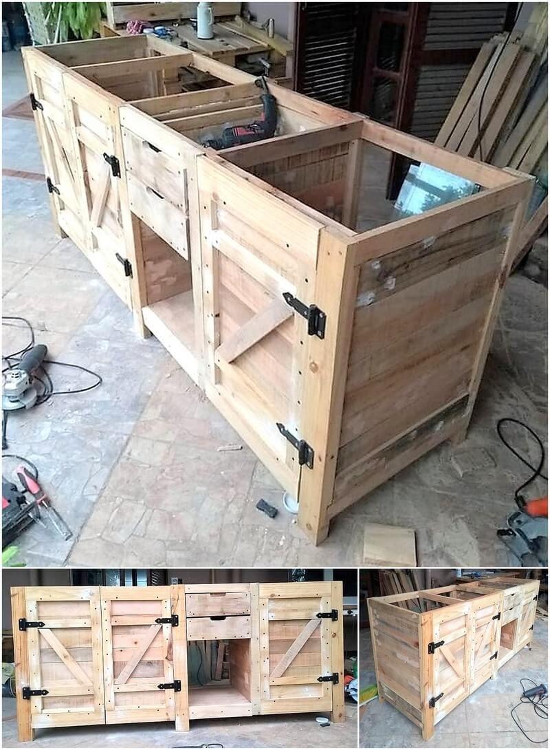Unique Diy Projects With Wood Pallets Wood Pallets Pallet Diy