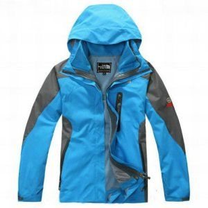 North Face Womens Berkeley Hyvent Jacket Sky Blue