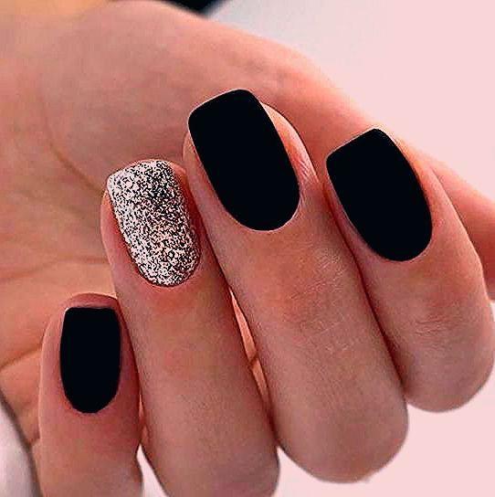 Photo of 60 Trendy Matte Black Nails Designs Inspirationen für Damen