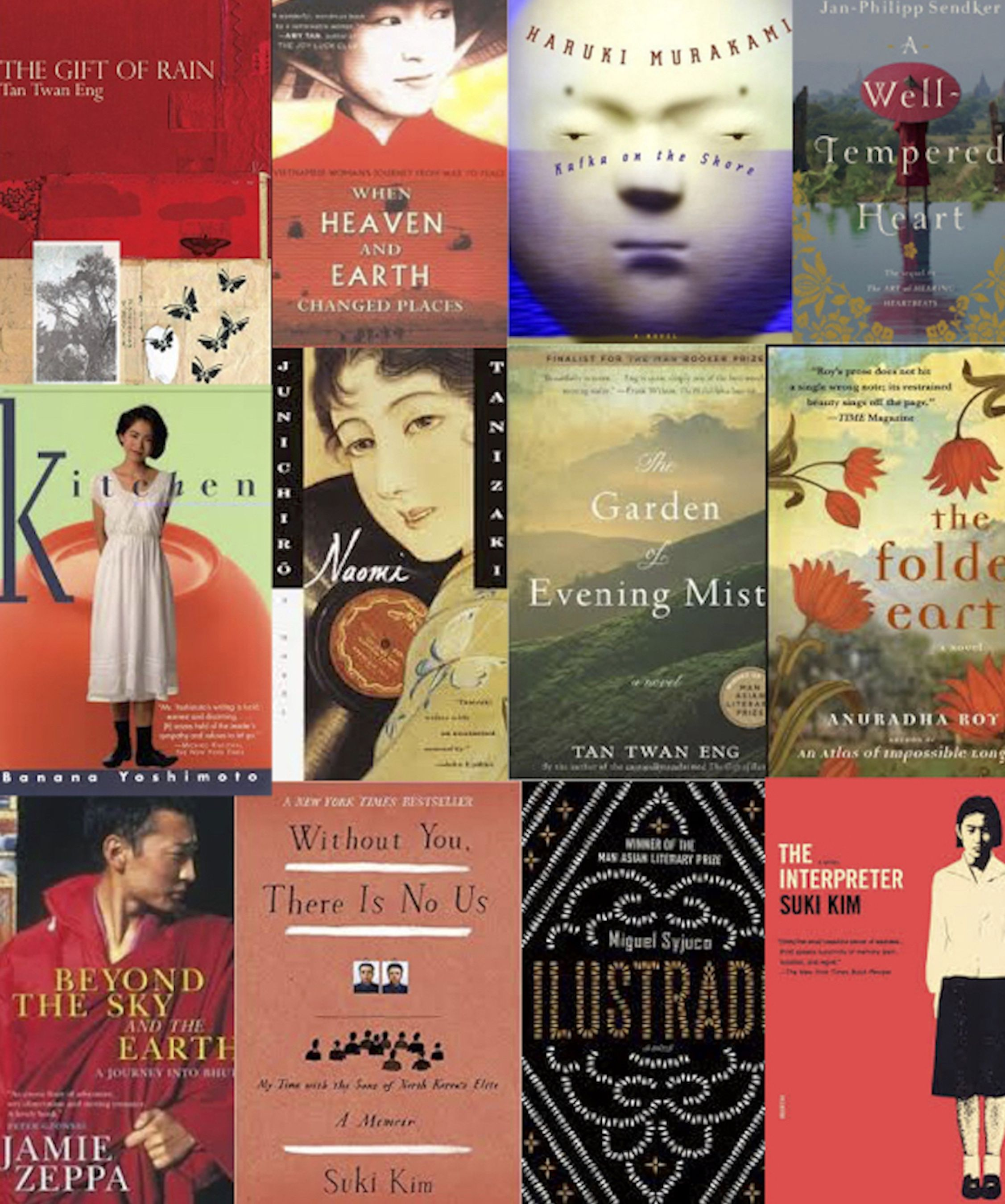 A Collection Of The Best Literature Historical Fiction And Mystery Books Set In Asia Best Mystery Books Historical Fiction Historical Fiction Books