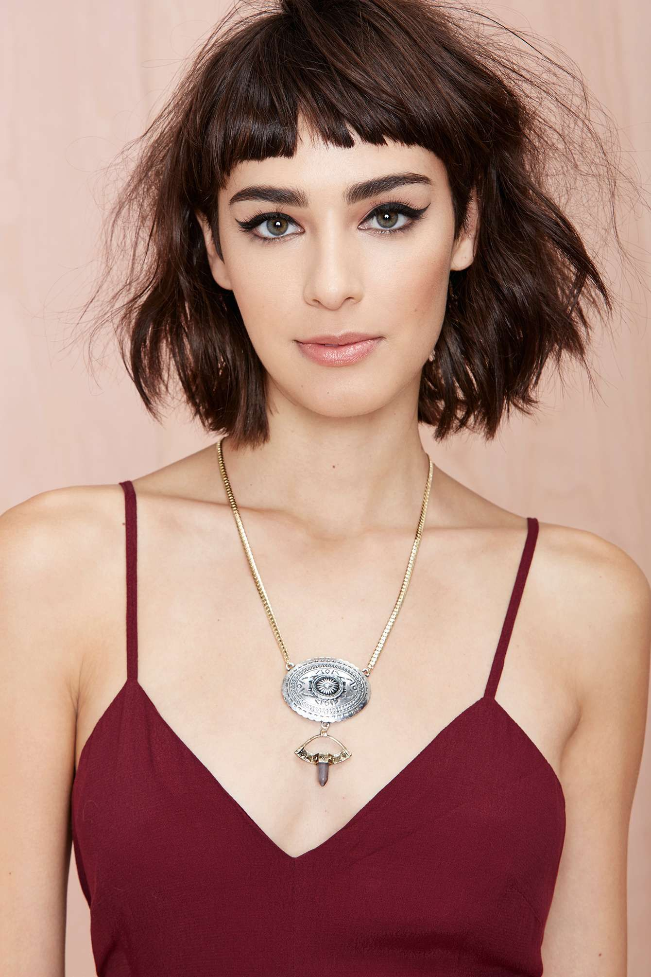 Yuna necklace shop off and up at nasty gal haughty