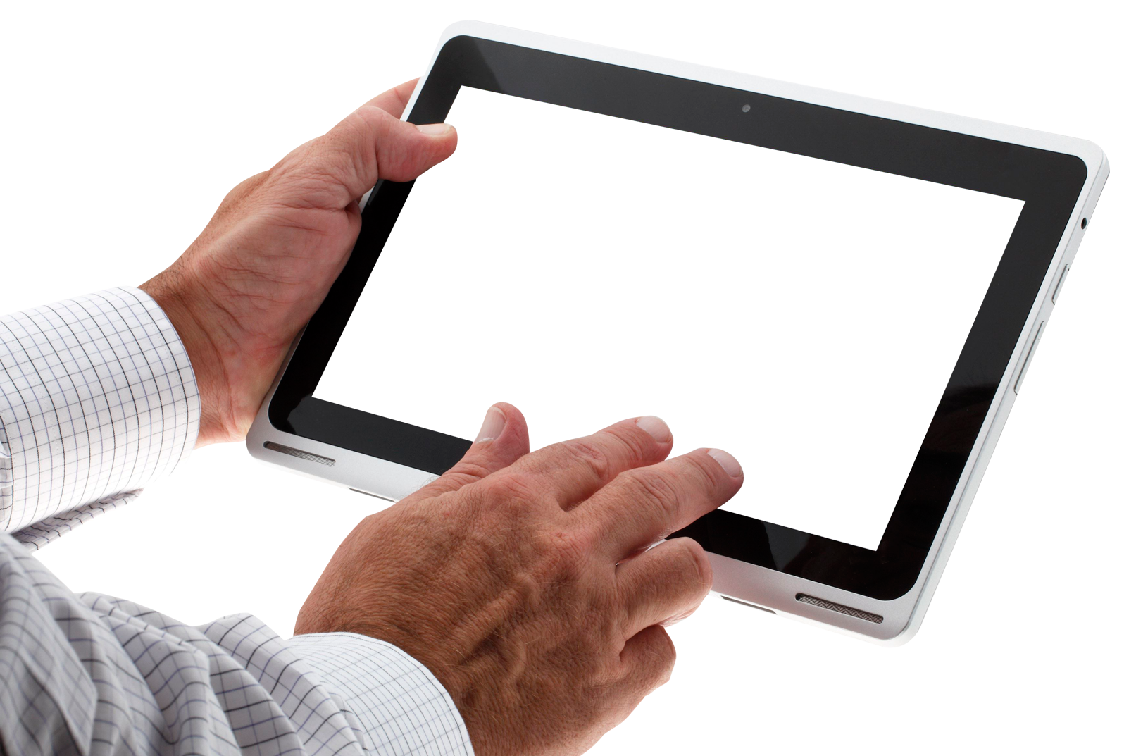 Hand Using Tablet Png Image Tablet Hand Water Pump Graphics Tablet