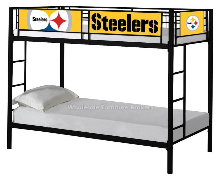 Pittsburgh Steelers Bunk Bed | GoWFB.com