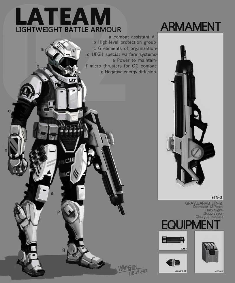 LAT battle armour 02192013 by WarrGon on DeviantArt