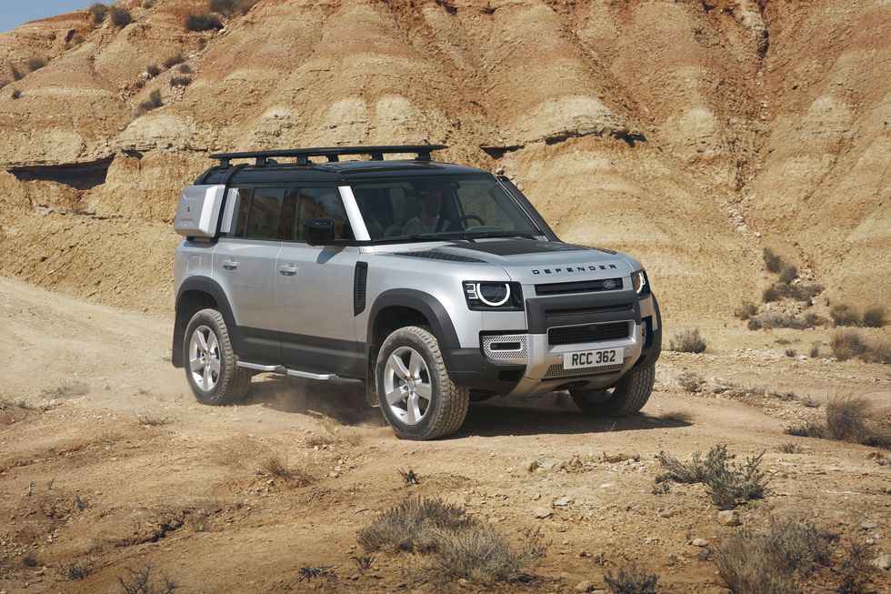 The Land Rover Defender Is Back Land Rover Defender Land Rover