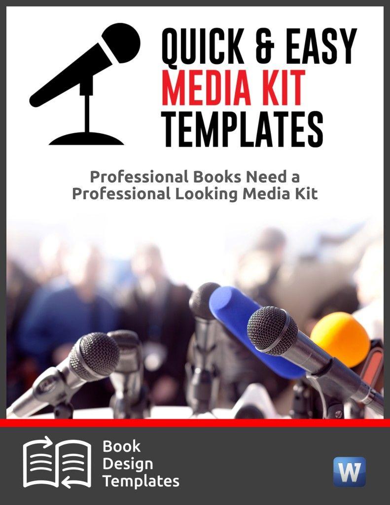 Media Kit Template Bundle — Author Toolkits | The Art of Art ...