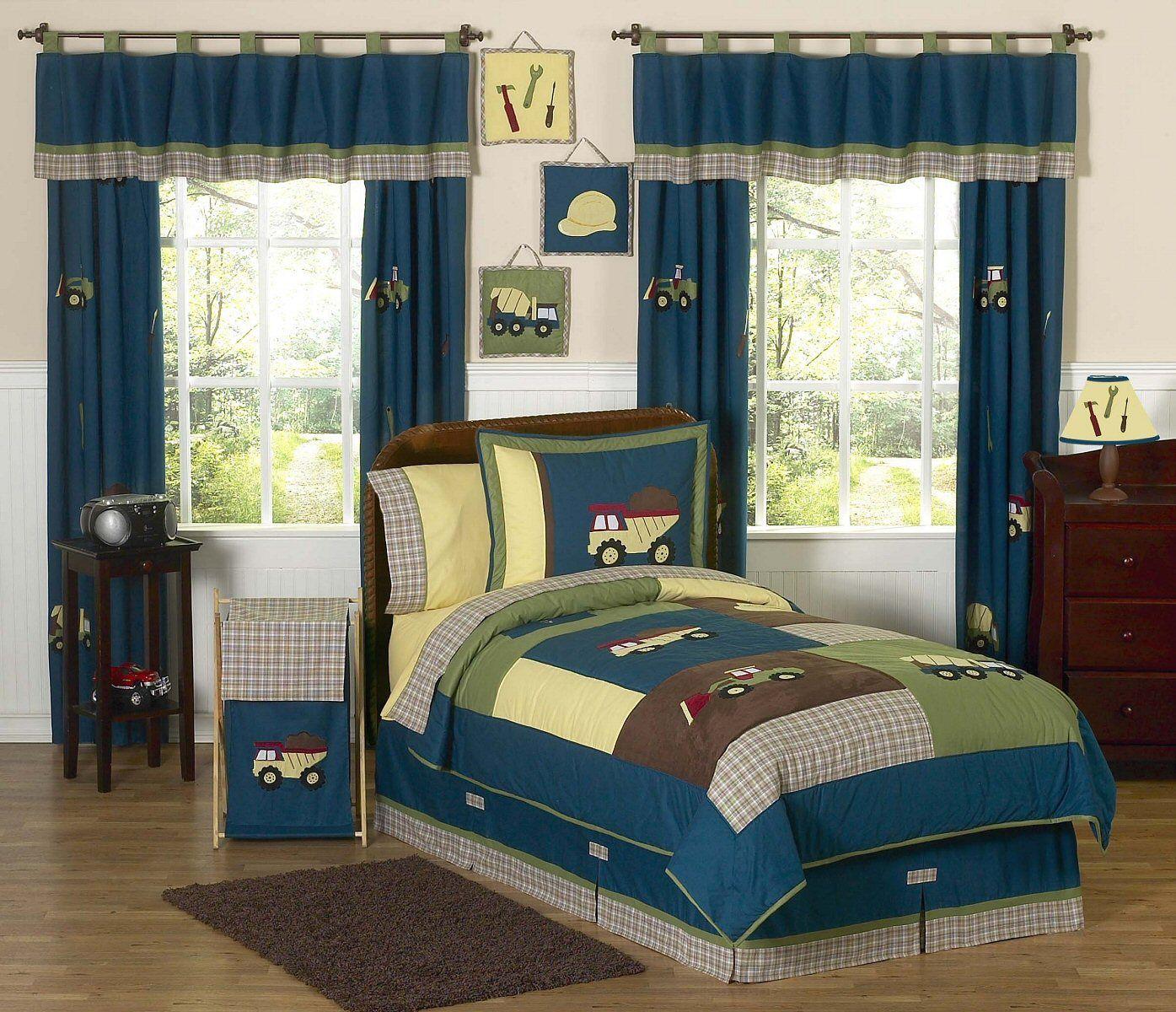Best Construction Zone Kids Bedding Twin Full Queen Comforter 400 x 300