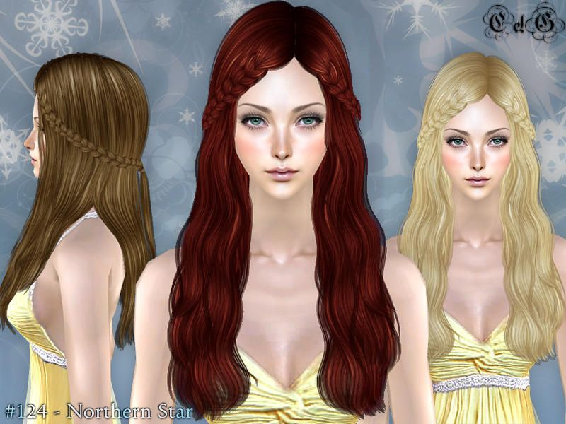 Hairstyle For Female Young Adultelder Found In Tsr