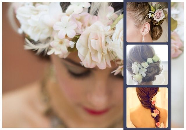 Flowers in your hair ...