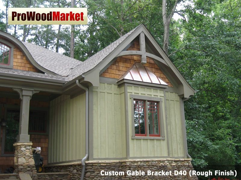 Gable Brackets Are The Perfect Accent For Exterior End Roof And Wooden  Corbels Are The Perfect Accent For Exterior Soffit, Front Entries, Shed  Roof Anu2026