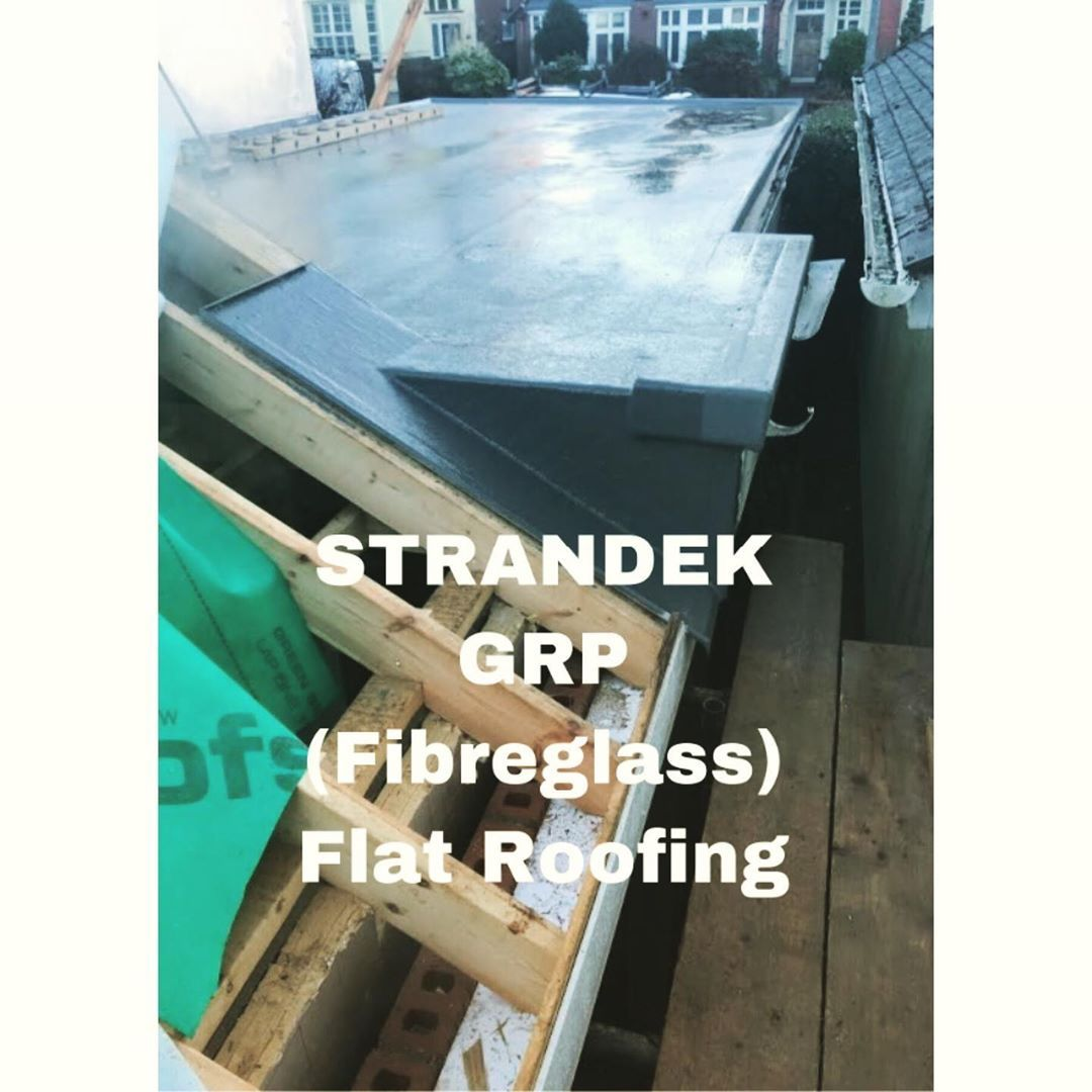 Another Fibreglass Grp Flat Roof Completed By Strandek 20 Year Company Guarantee And A 10 Year Iwa Insirance Backed Guarante With Images Fibreglass Roof Roofing Flat Roof