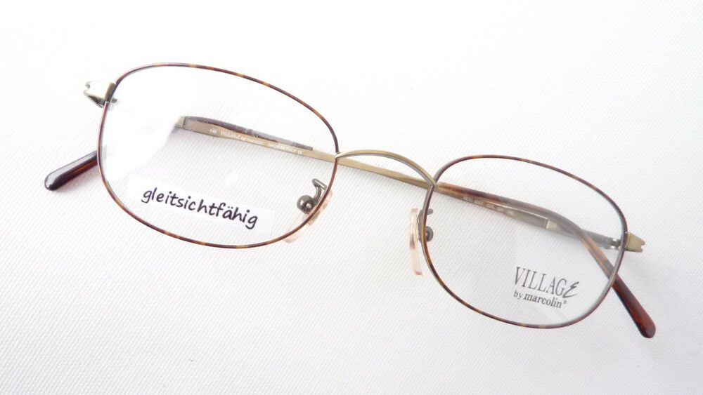 Sonnenbrillen Leichte Brille Edelstahl Gestell Kleine Form Damen Dezent Fassung Gold Gr M Augenoptik