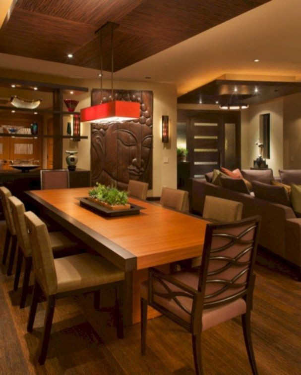 Photo of 60 Inspiring Asian Dining Room Decoration Ideas
