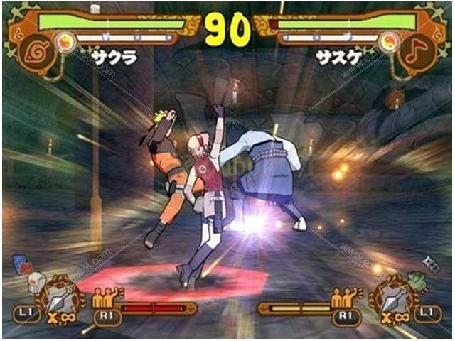 Naruto Shippuden: Ultimate Ninja 5 PS2 Game - eZmaal com