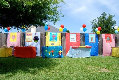 Super ideas for a backyard carnival for kiddos - complete ...