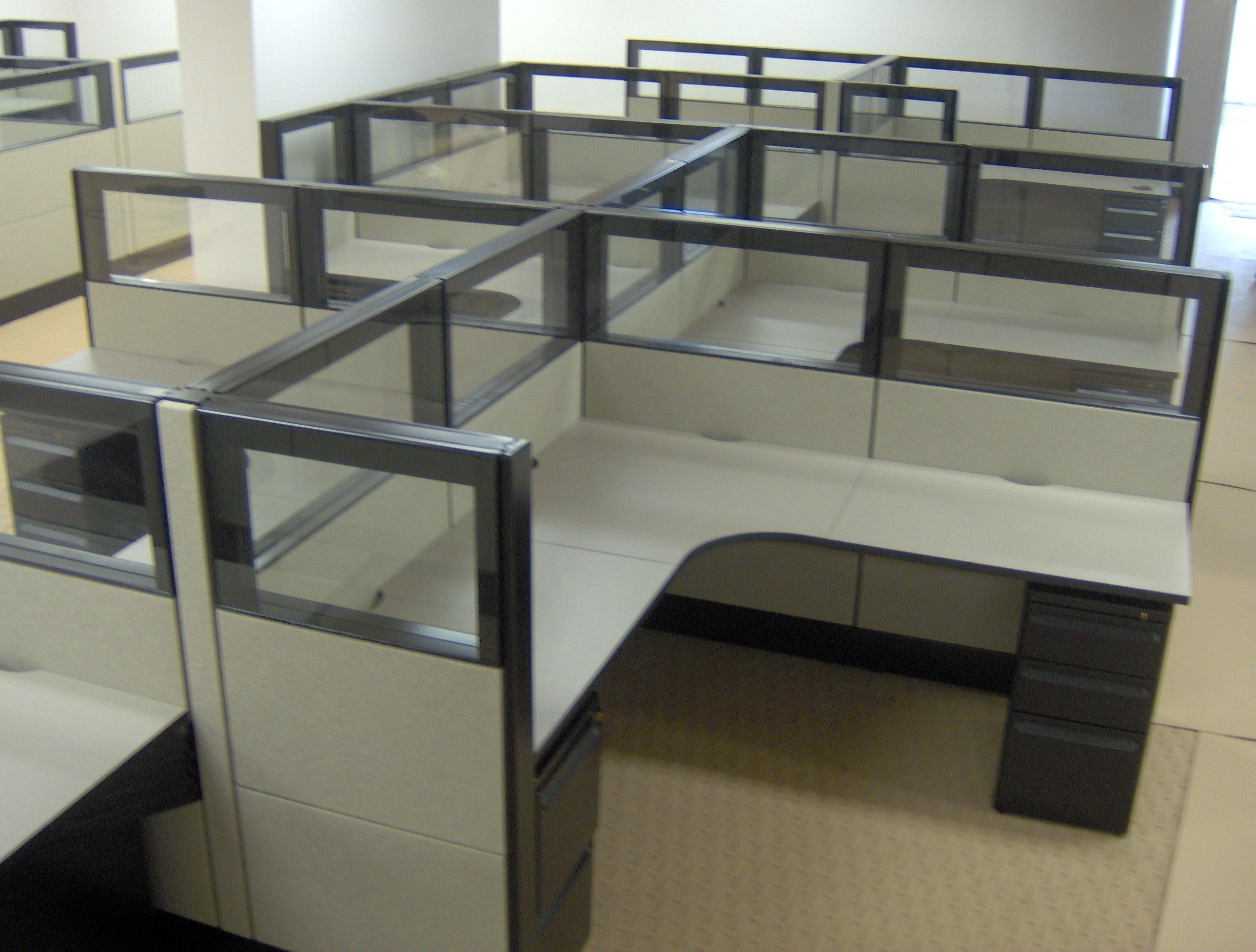 office cubicle systems used office cubicles office cubes used panel systems used - Office Cubicles