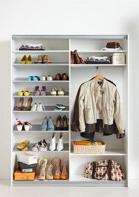garderobenschrank cs schmal soft smart 150 cm breit im online shop von baur versand flur. Black Bedroom Furniture Sets. Home Design Ideas