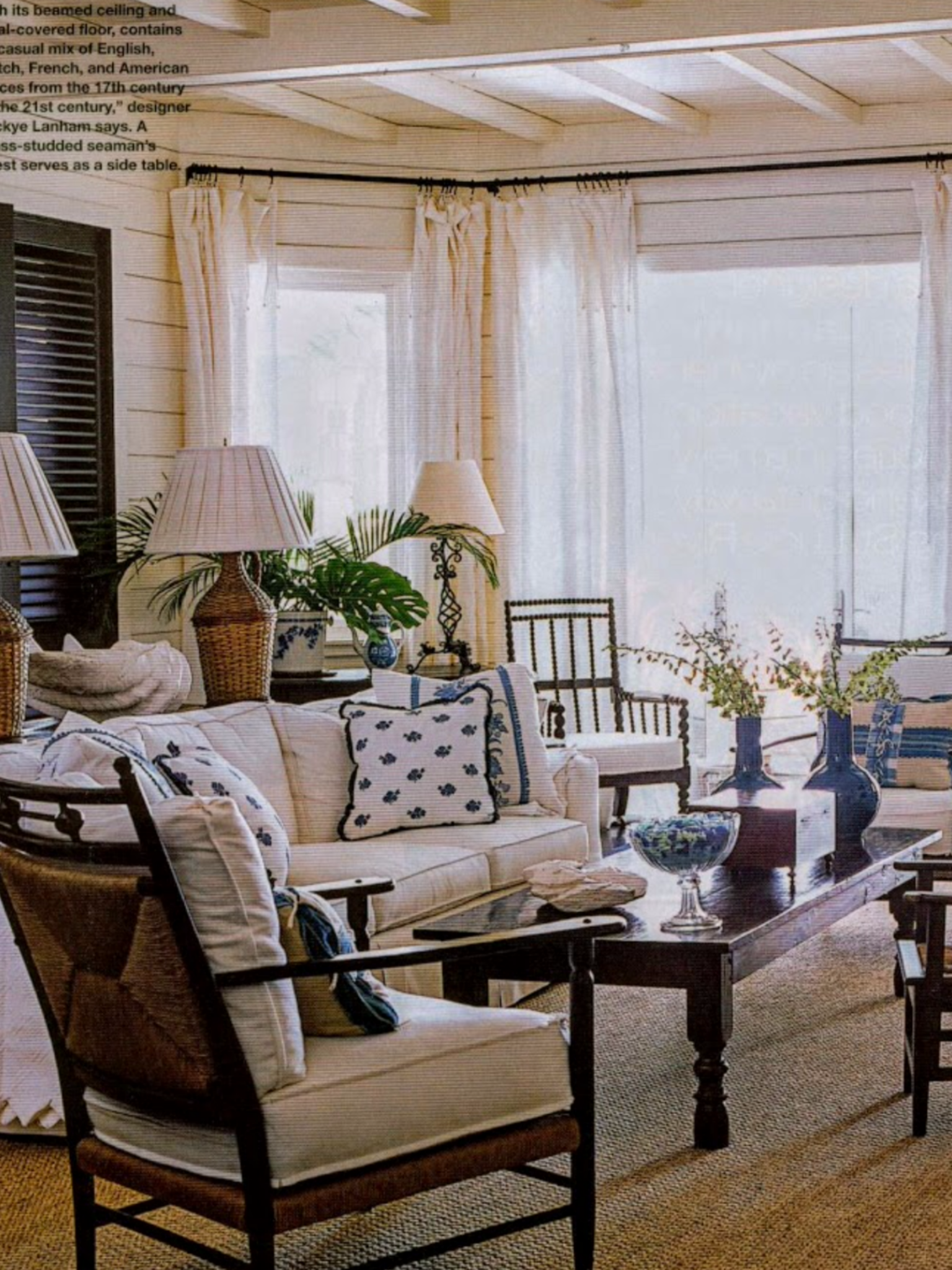 West Indies Interior Decorating Style British Colonial Beach House British Colonial Looks In