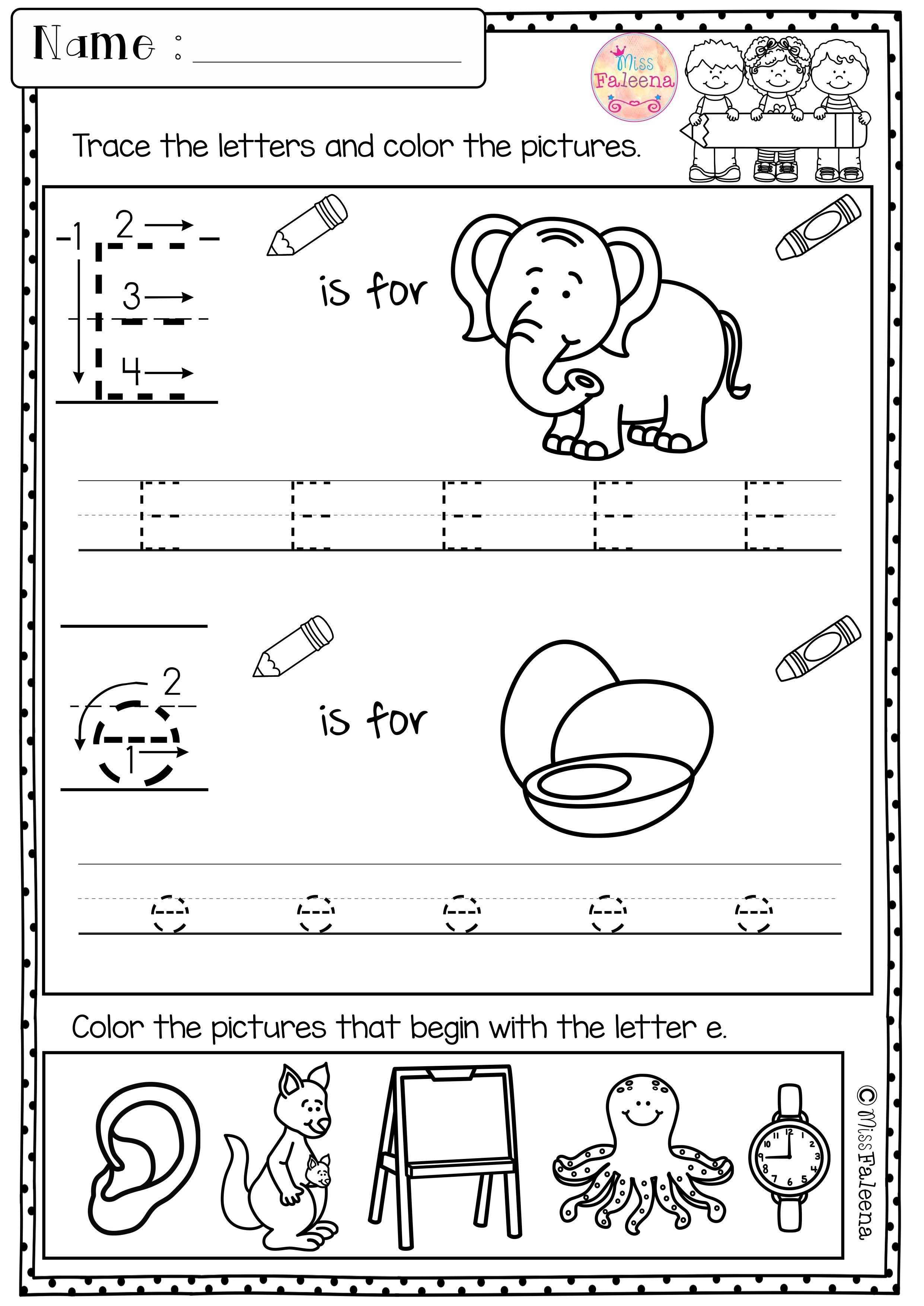 Kindergarten Morning Work Set 1 Kindergarten Morning Work Kindergarten Worksheets Alphabet Worksheets Kindergarten