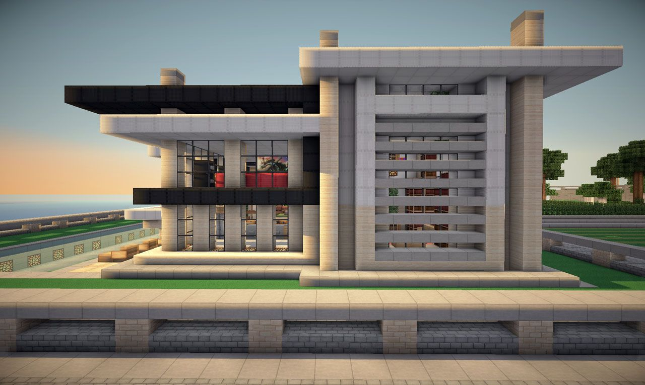 minecraft modernes haus keralis  Keralis Modern House   Minecraft ...