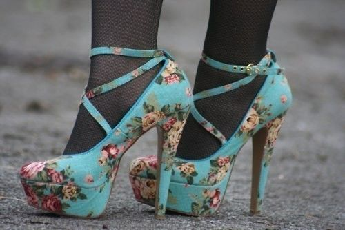 Not feeling the tights. Shoes are super cute.