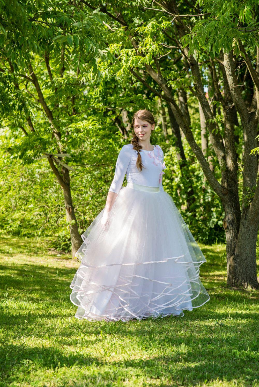 Princess bride tulle skirt bridal skirt tulle circle skirt