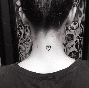 Small Heart Tattoo By Patricia Fedrigo Tiny Tattoos For Girls Small Heart Tattoos Tattoo Designs For Girls