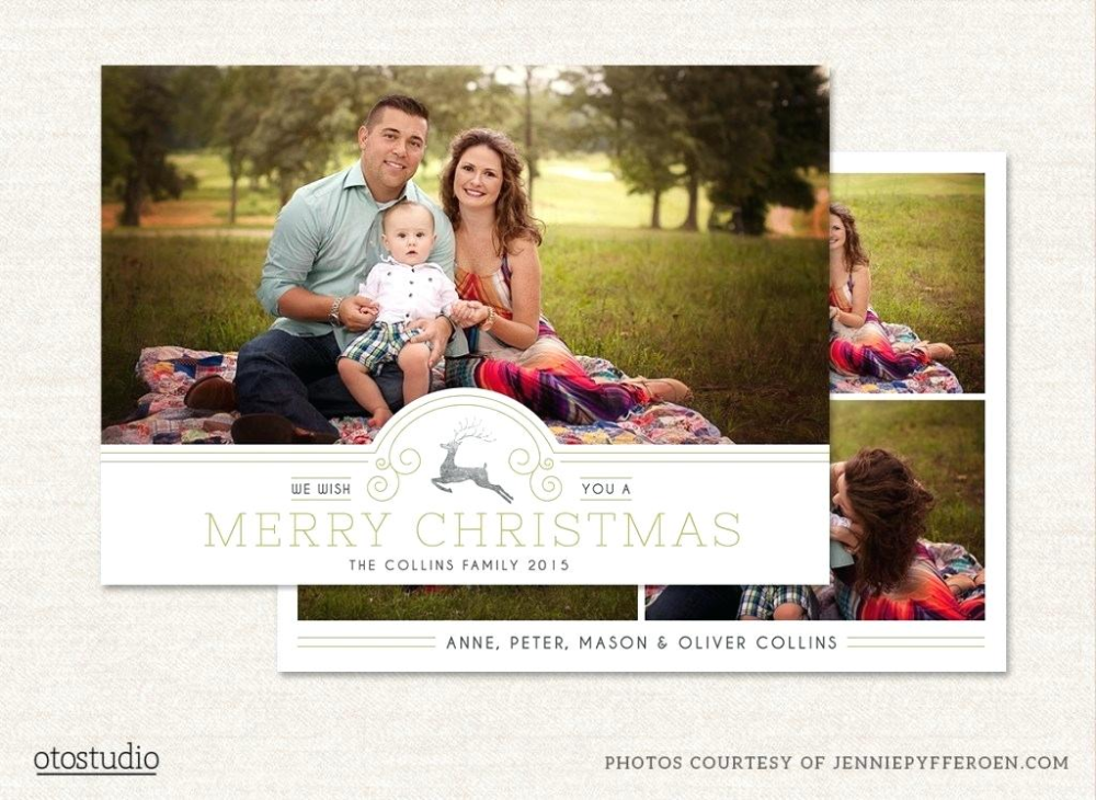 Card Templates To Get You Up And Going Quickly Christmas Psd Template Free Downl Christmas Photo Card Template Christmas Card Template Christmas Card Photoshop