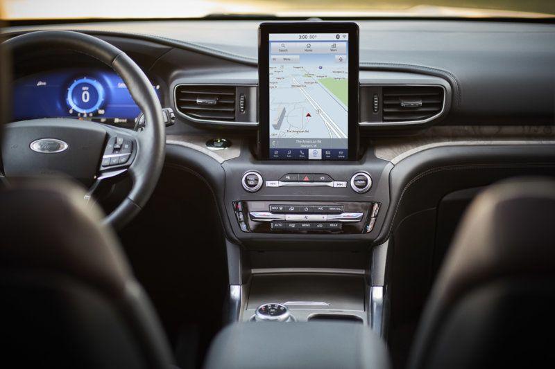 2020 6th Gen Ford Explorer Interior 2020 Ford Explorer Ford Explorer Ford Explorer Interior